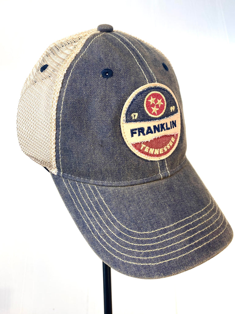 Franklin Tristar Navy Old Favorite Trucker Hat
