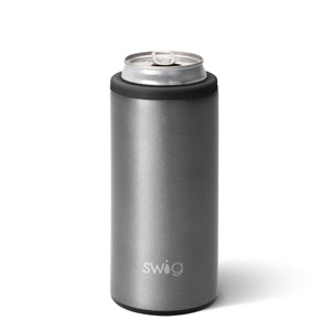 Swig Graphite Skinny Can Cooler