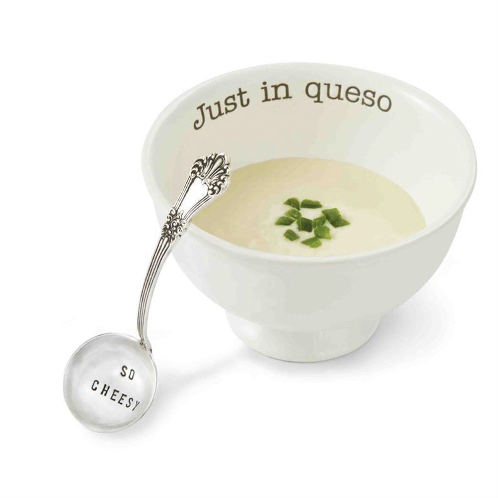 Just in Queso Serving Bowl