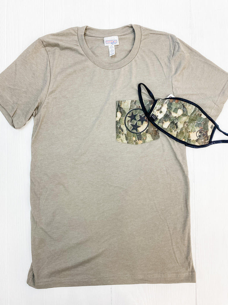 TriStar Pocket Tee w/ mask