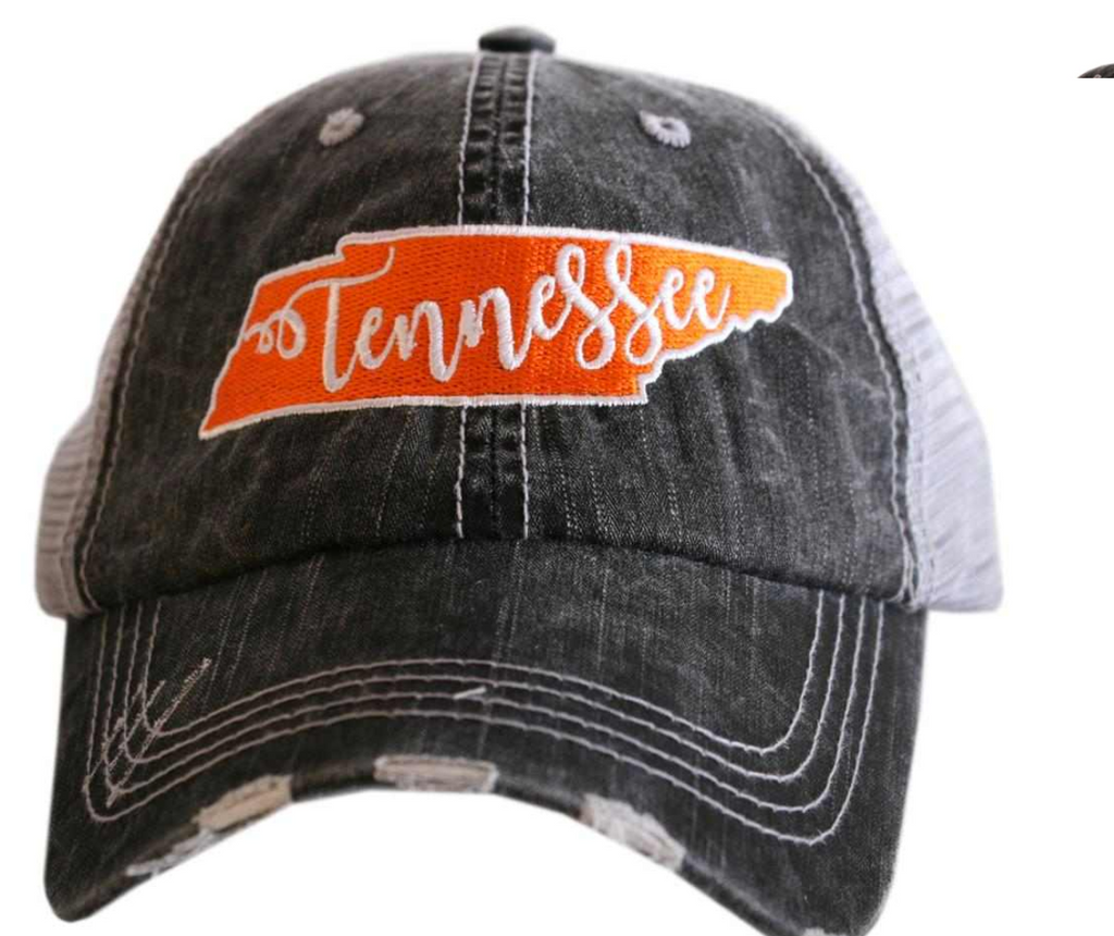 TN Patch Trucker Hat Orange