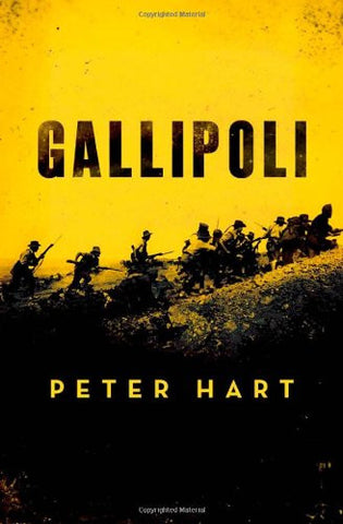 Gallipoli [Hardcover] by Hart, Peter