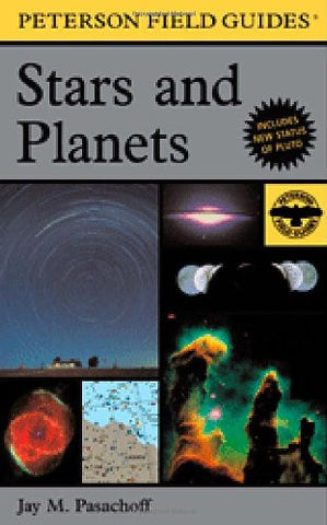 A Field Guide to Stars and Planets (Peterson Field Guides) [Paperback] by Pas...