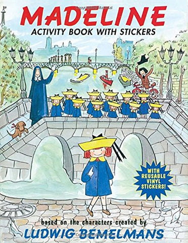 Madeline: Activity Book with Stickers [Paperback] by Bemelmans, Ludwig