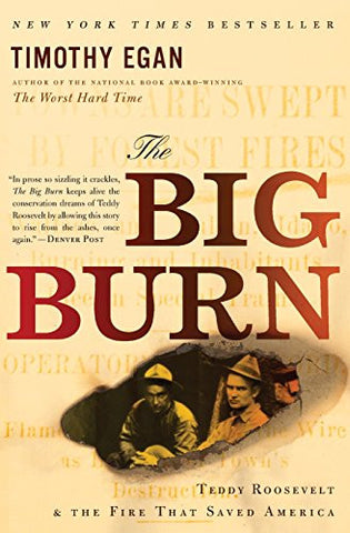 The Big Burn: Teddy Roosevelt and the Fire that Saved America [Paperback] by ...