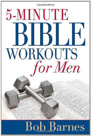 5-Minute Bible Workouts for Men [Paperback] by Barnes, Bob