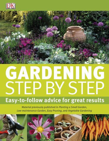 Gardening Step by Step [Hardcover] by DK Publishing