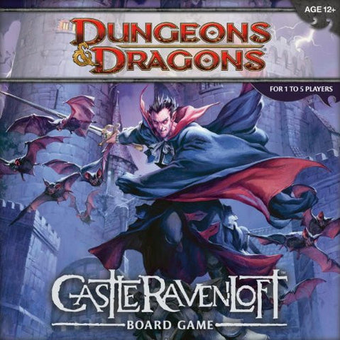 Dungeons and Dragons: Castle Ravenloft Board Game [Toy] Wizards RPG Team