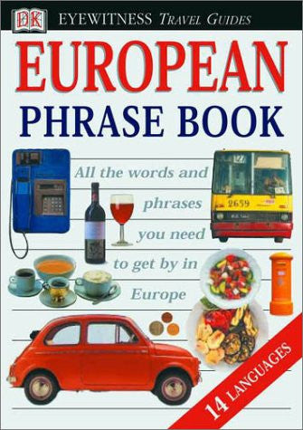 Eyewitness Travel Phrase Book: European (14 languages) by Metcalf, Jonathan