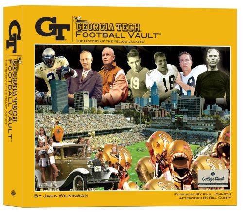 Georgia Tech Football Vault [Hardcover] by Jack Wilkinson