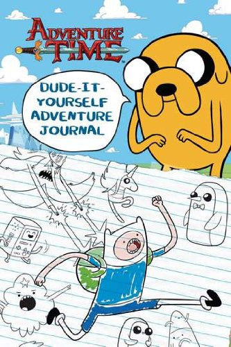 Dude-It-Yourself Adventure Journal (Adventure Time) [Hardcover] by Mayer, Kir...