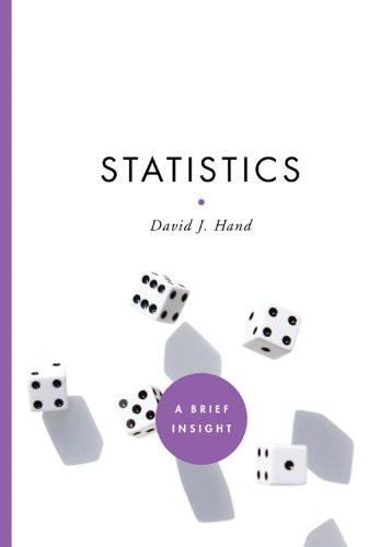Statistics (A Brief Insight) by Hand, David J.