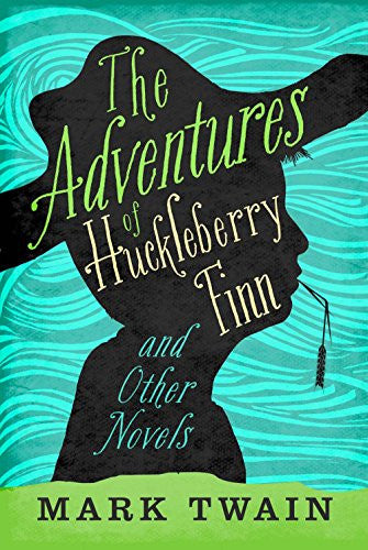 Image result for the adventures of huckleberry finn  book cover