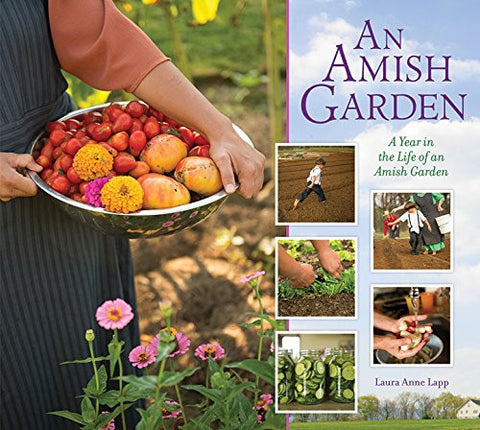 Amish Garden: A Year In The Life Of An Amish Garden [Hardcover] by Lapp, Laur...