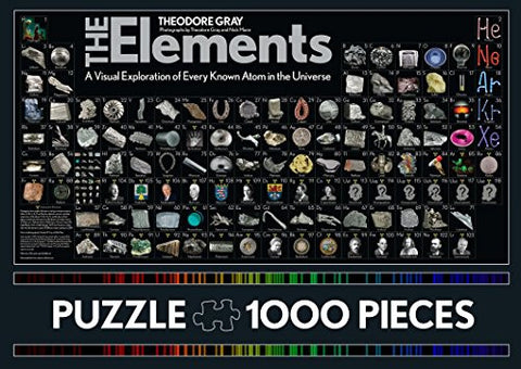 Elements Puzzle: 1000 Pieces [Game] Gray, Theodore