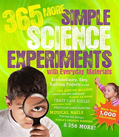 365 More Simple Science Experiments with Everyday Materials [Paperback] by Ch...