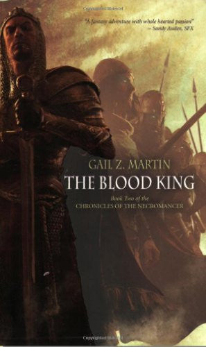The Blood King (Chronicles of the Necromancer, Book 2) [Mass Market Paperback...