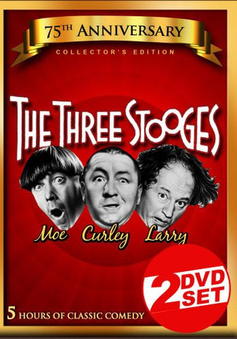 The Three Stooges: Five Hours of Classic Comedy (2 Disc Set) [DVD] (2012) Moe...
