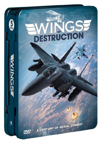 Wings of Destruction (5-pk)(Tin) [DVD] (2011) None