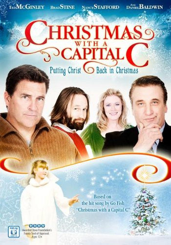 Christmas with a Capital C [DVD] (2011) Ted McGinley; Daniel Baldwin; Nancy S...
