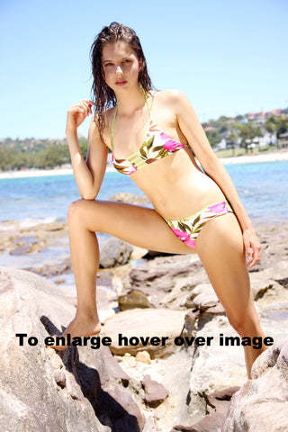 Khongboon-Brunei Reversible Bikini Top and Pant