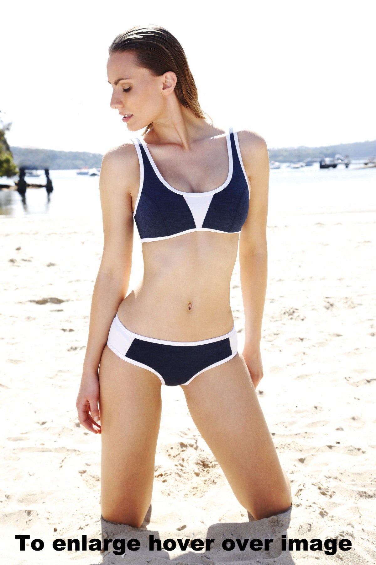 Duskii-Monte Carlo-Crop Top and Hipster Brief Swimwear
