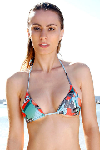 We Are Handsome-Seaquest Bikini Top