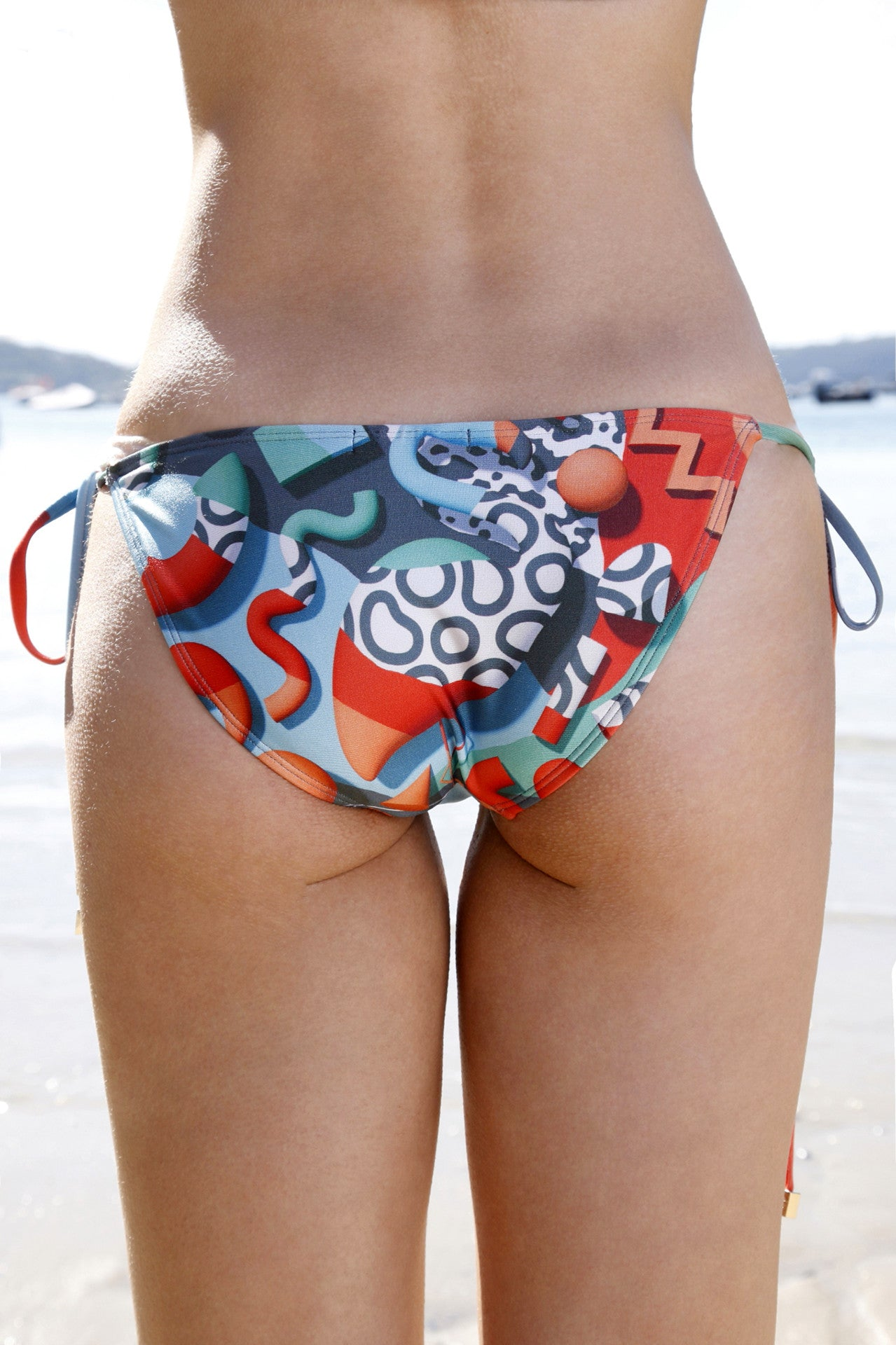 We Are Handsome-Jigsaw Bikini-String Top and Pant