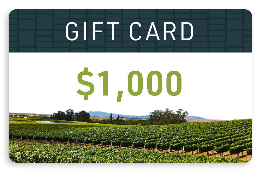 $1,000 Electronic Gift Card