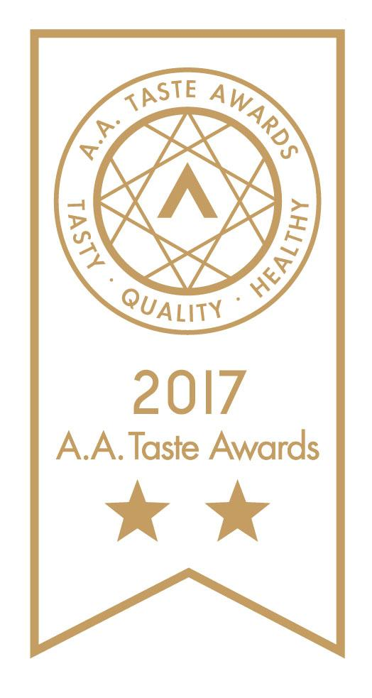 We won 2 stars in the A.A Taste Awards! | GAFELL