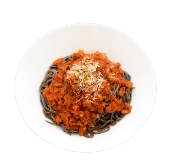 Black Soybean Spaghetti Bolognese - GAFELL | For informed eaters