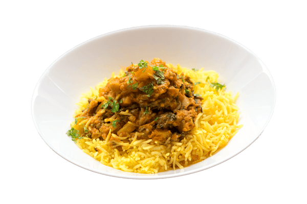 Butternut Lentil Stew with Saffron Basmati - GAFELL | For informed eaters