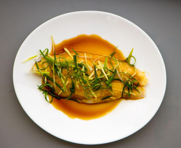 Cantonese Style Steamed Fish - GAFELL