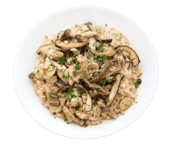 Four Mushroom Risotto - GAFELL | For informed eaters