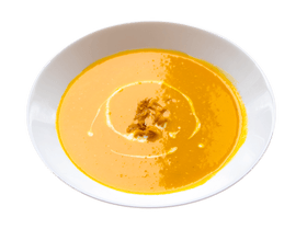 Pumpkin, Carrot & Ginger Soup