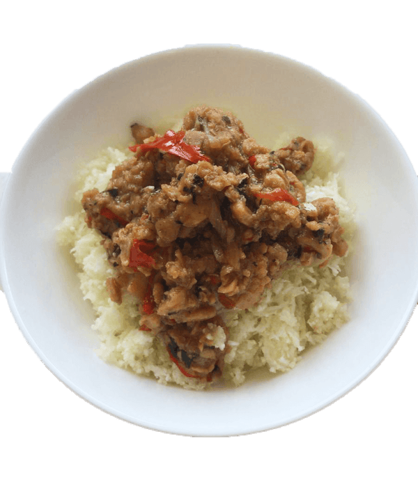 Thai Basil Omnipork with Cauliflower Rice - GAFELL | For informed eaters