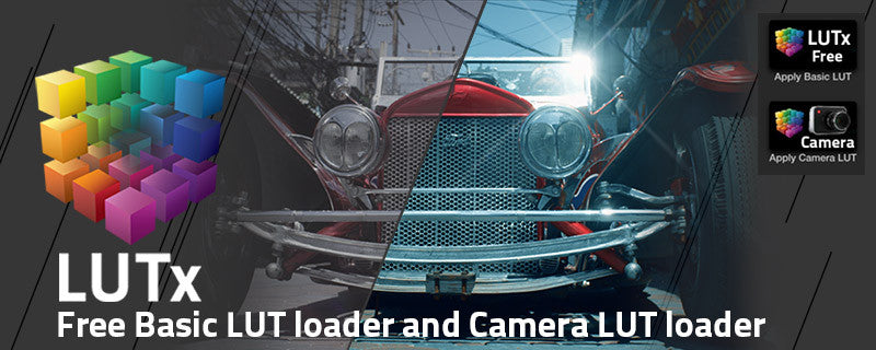 LUTx Free: Final Cut Pro LUT Loader for Color Grading