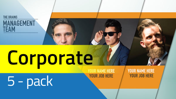 5 Pack: Corporate