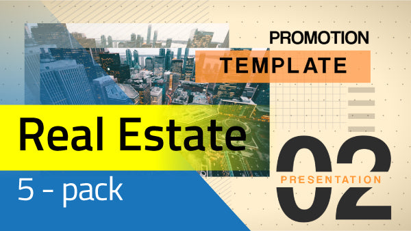 5 Pack: Real Estate