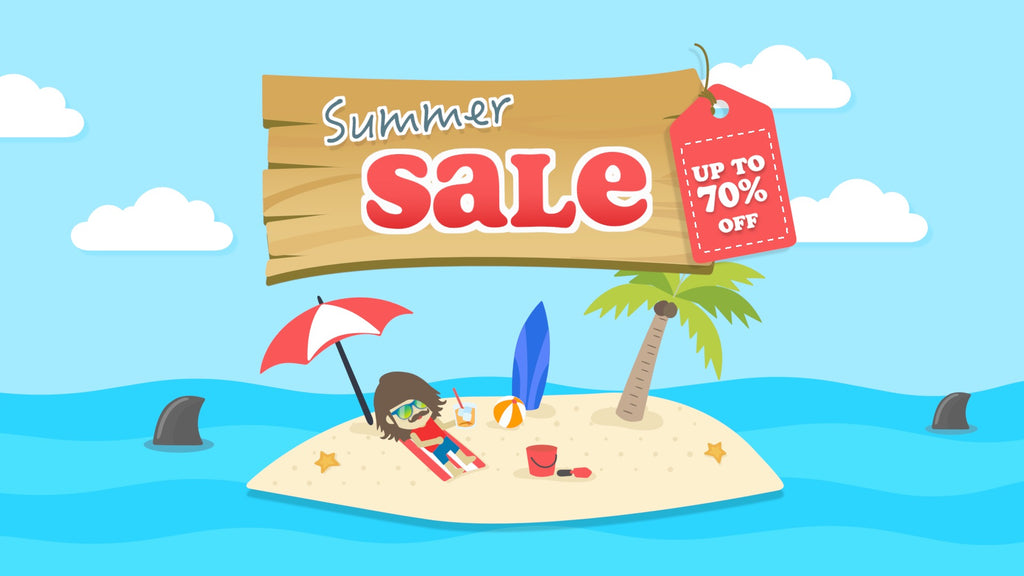 Simmerin' Summer Sale