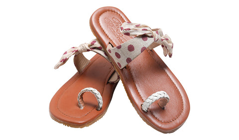 Polka dotted Sash Sliders