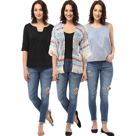 Shop Shirts for Women Online | Long Sleeve and Multicolor Shirts for Women