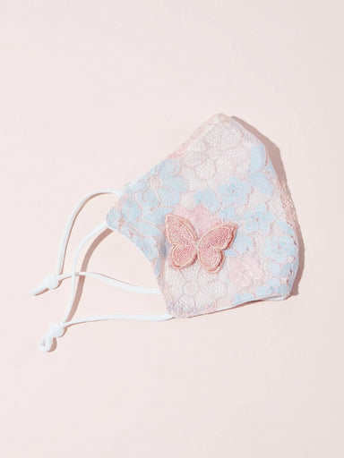 Ten on Ten Butterfly Lace Adult Mask