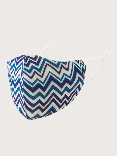 Ten on Ten Chevron Adult Mask