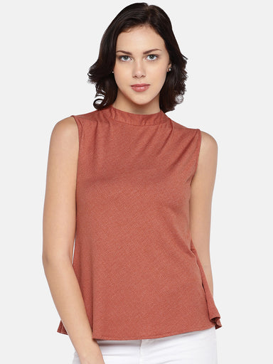 Ten on Ten Rust Summer Top