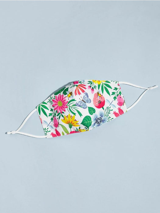 Ten on Ten Garden Print Mask