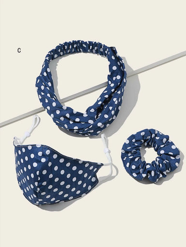Ten on Ten Blue and White Polka Set