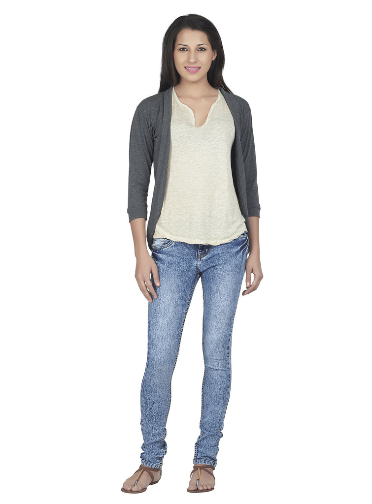 Ten on Ten Casual Wear Shrug for Women