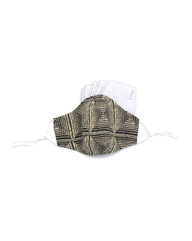 Ten on Ten Abstract Stripe Adult Mask