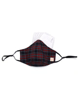 Tartan Checks Cotton Mask (nose wire embedded)